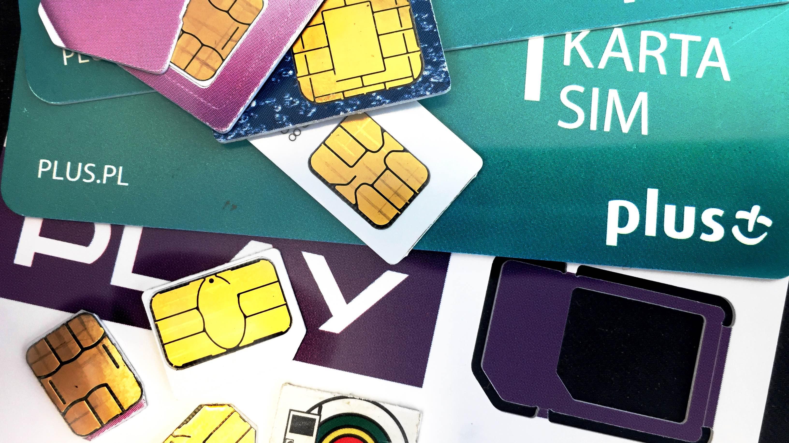 SIM - niszczenie kart SIM